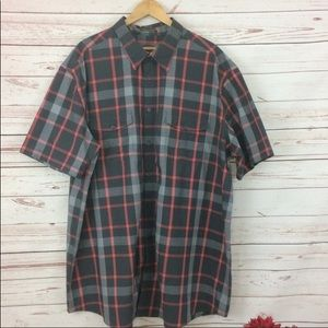(NWOT) Foundry Plaid Comfort Stretch Shirt